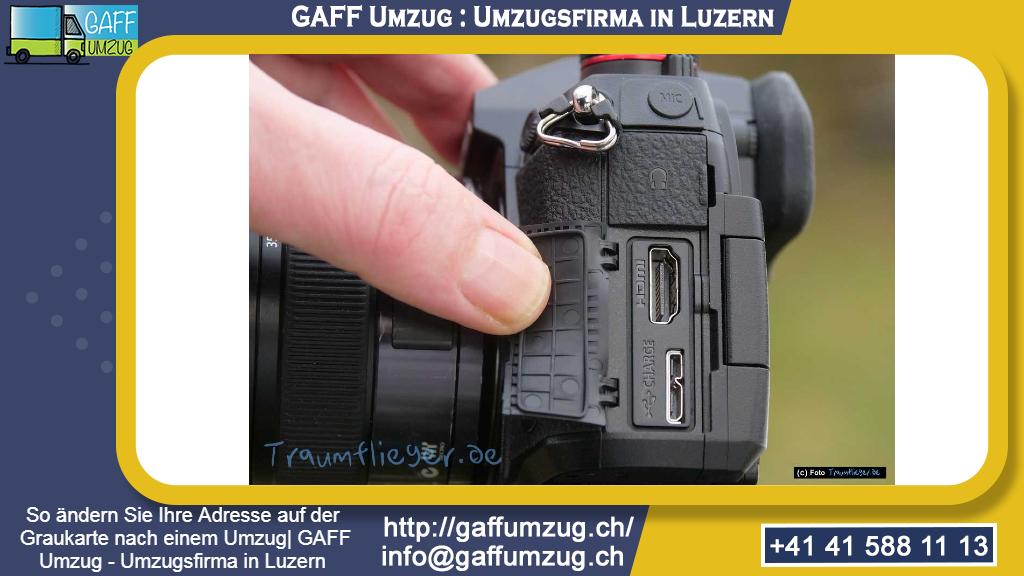 So ändern Sie Ihre Adresse auf der Graukarte nach einem Umzug| GAFF Umzug - Umzugsfirma in Luzern