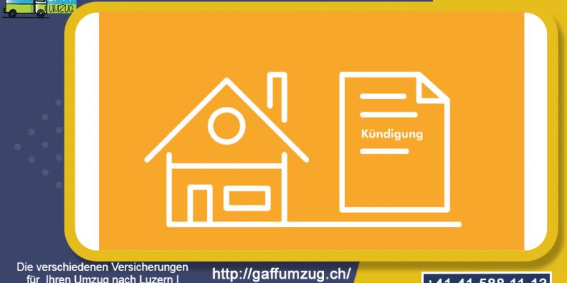 Die verschiedenen Versicherungen für Ihren Umzug nach Luzern | GAFF Umzug - Umzugsfirma in Luzern