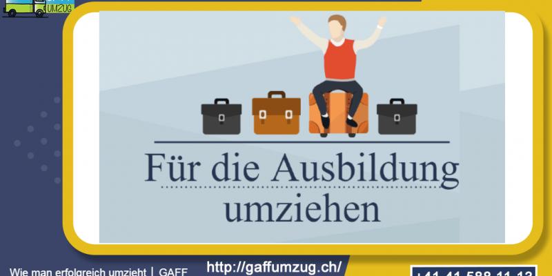 Wie man erfolgreich umzieht │ GAFF Umzug - Umzugsfirma in Luzern