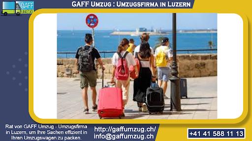 Rat von GAFF Umzug - Umzugsfirma in Luzern, um Ihre Sachen effizient in Ihren Umzugswagen zu packen.